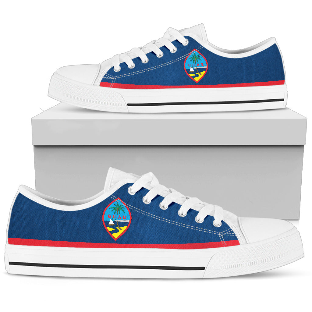 Guam Flag Low Top Shoe