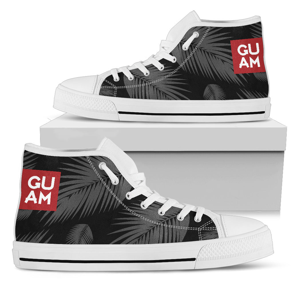 Guam Coconut Leaves High Top Shoe