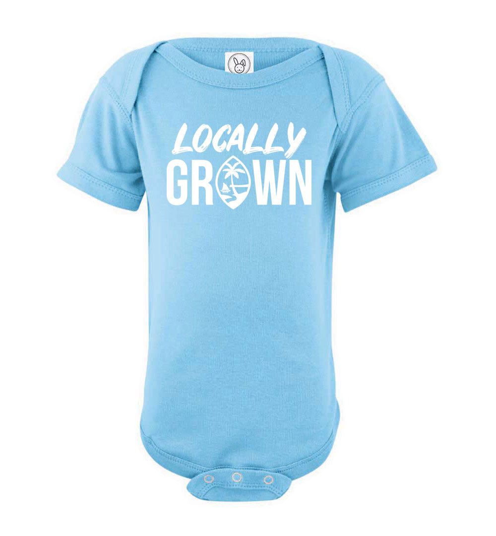 Locally Grown Guam Infant Baby Onesie