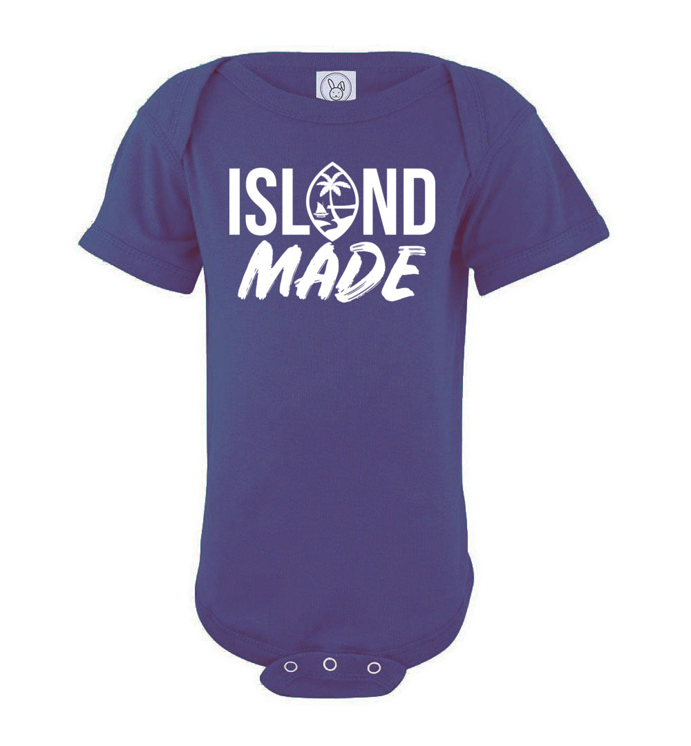 Island Made Guam Seal Baby Bodysuit