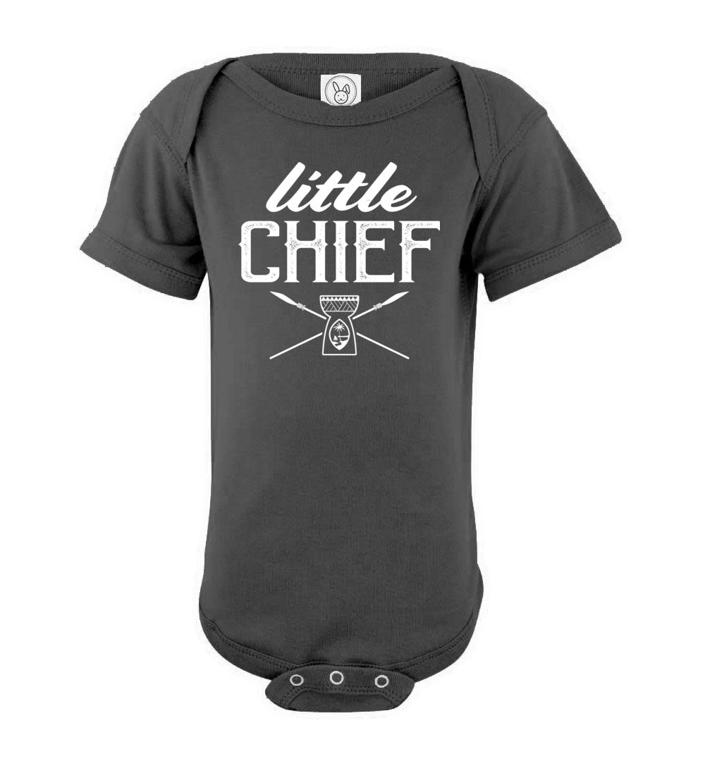 Little Chief Guam Latte Stone Baby Bodysuit