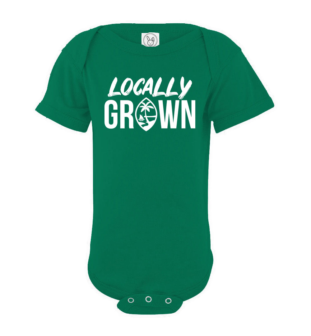 Locally Grown Guam Infant Baby Bodysuit