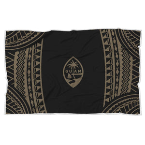 Guam Seal Chamorro Tribal Blanket