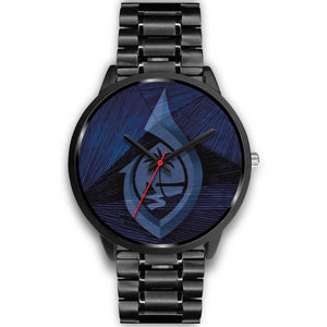 Guam Seal Hook Chamorro Islander Blue Watch