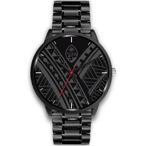 Guam Seal Tribal Black Watch