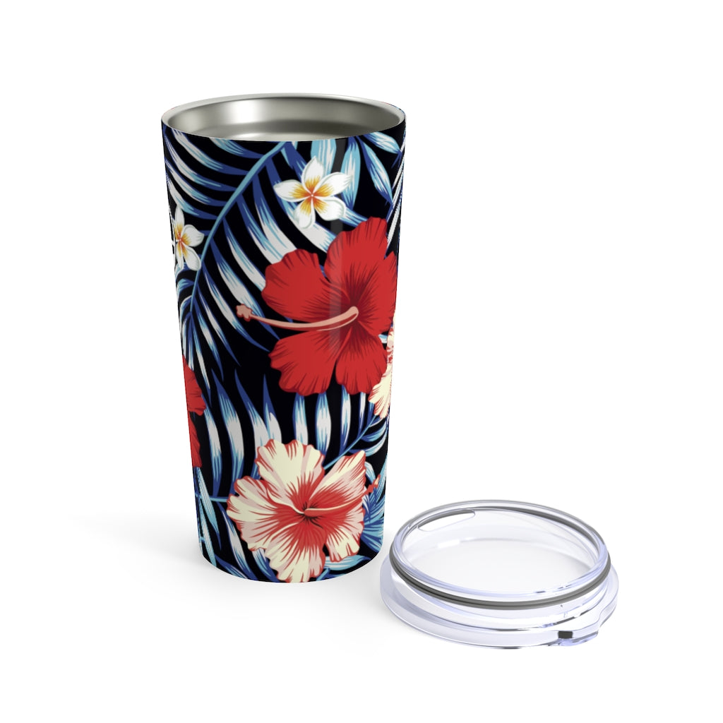 Guam Tropical Floral Tumbler 20oz