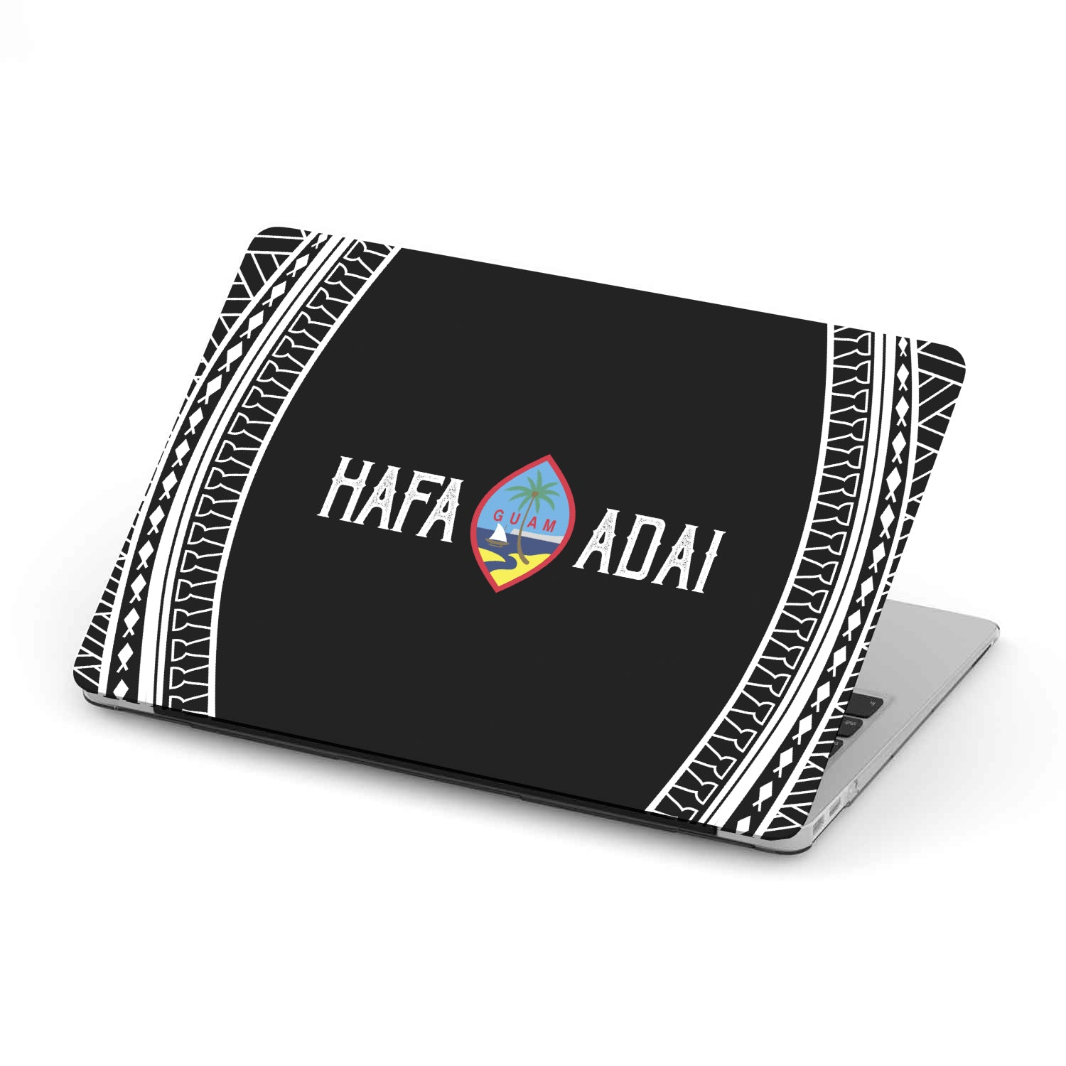 Hafa Adai Tribal MacBook Case