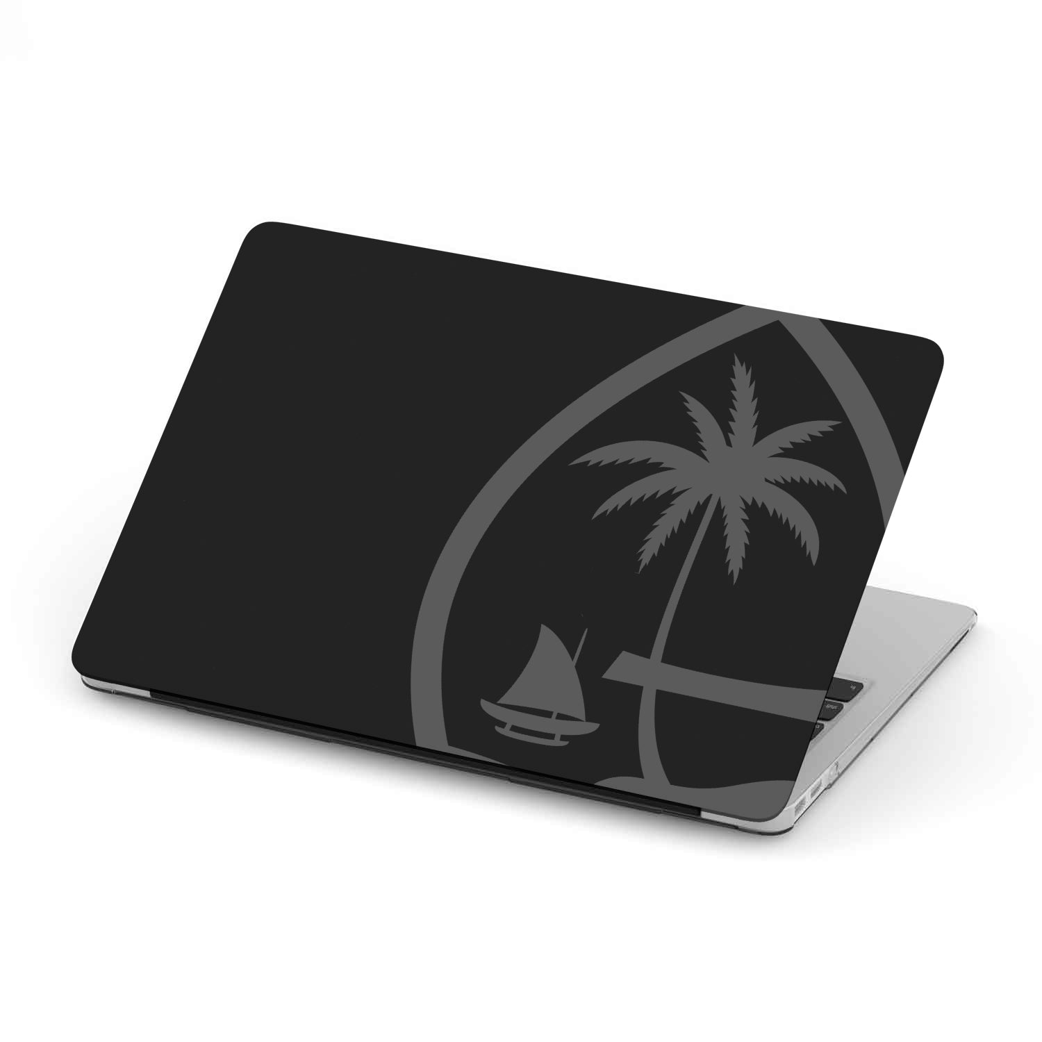 Guam Seal Black MacBook Case