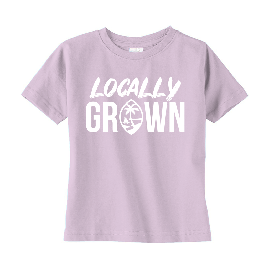 Locally Grown Guam Toddler T-Shirt
