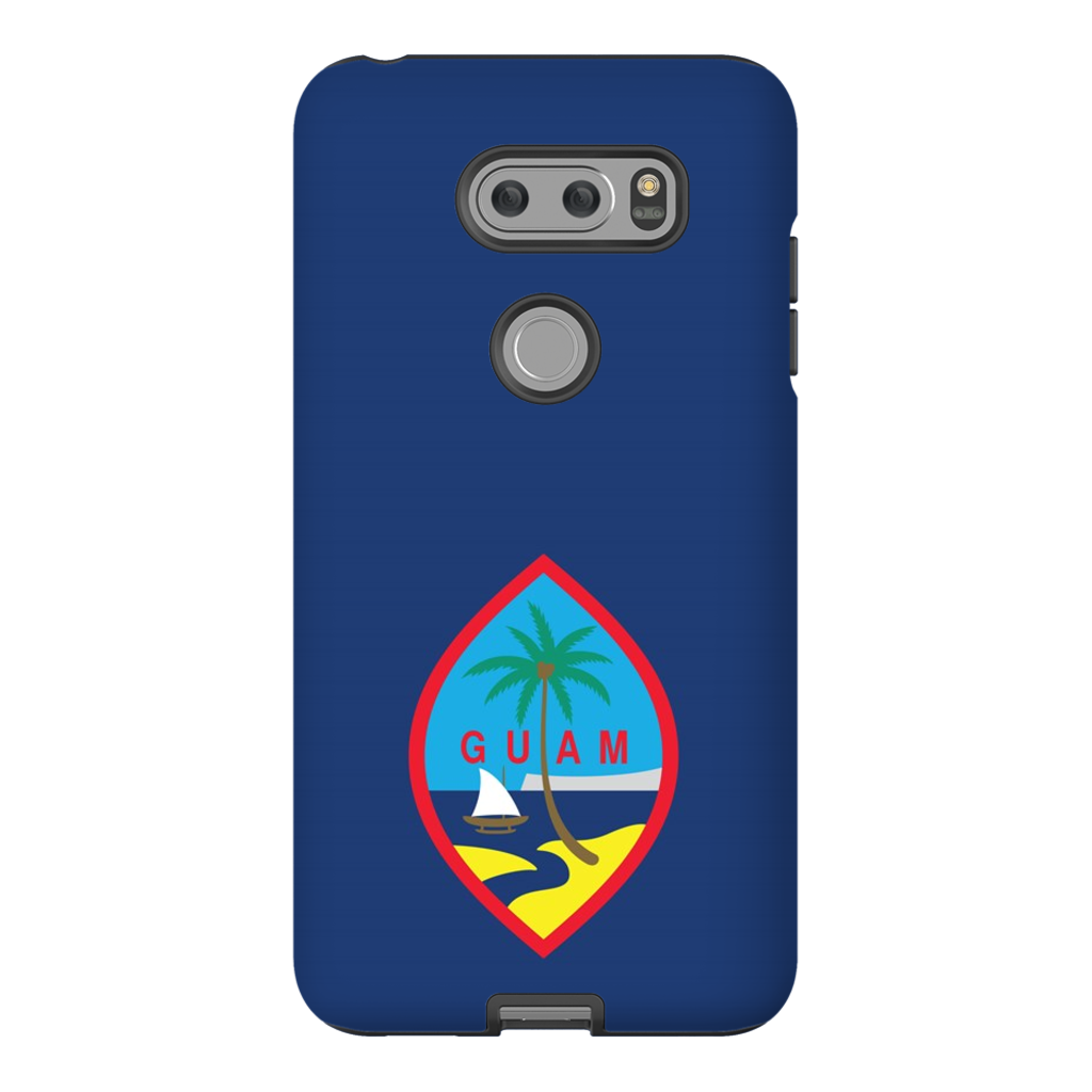 Guam Flag Premium Glossy Tough Phone Case