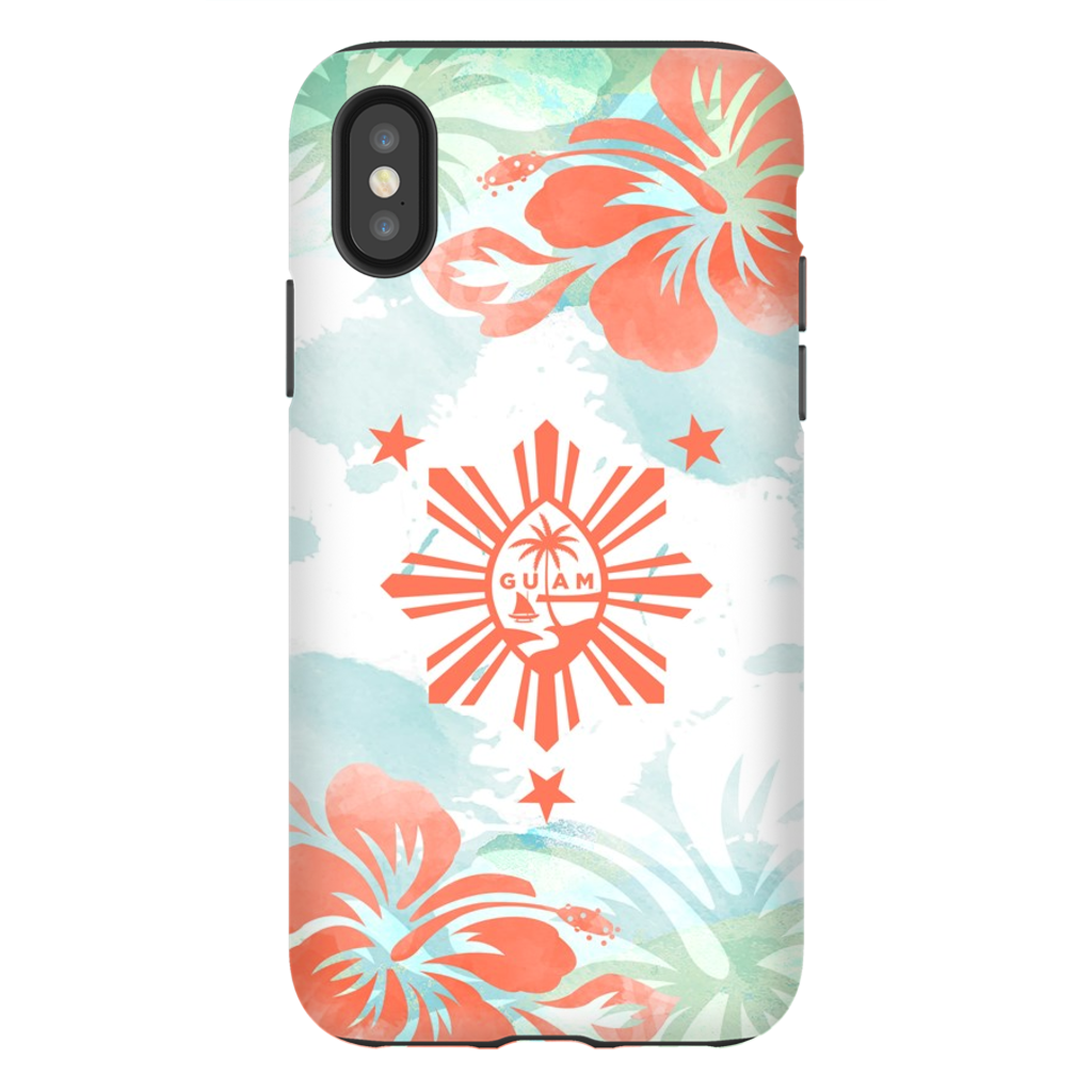 Guam Philippines Tropical Island Premium Glossy Tough Phone Case