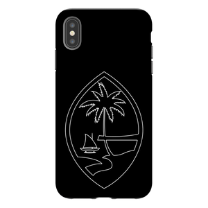 Guam Seal Outline Premium Glossy Tough Phone Case