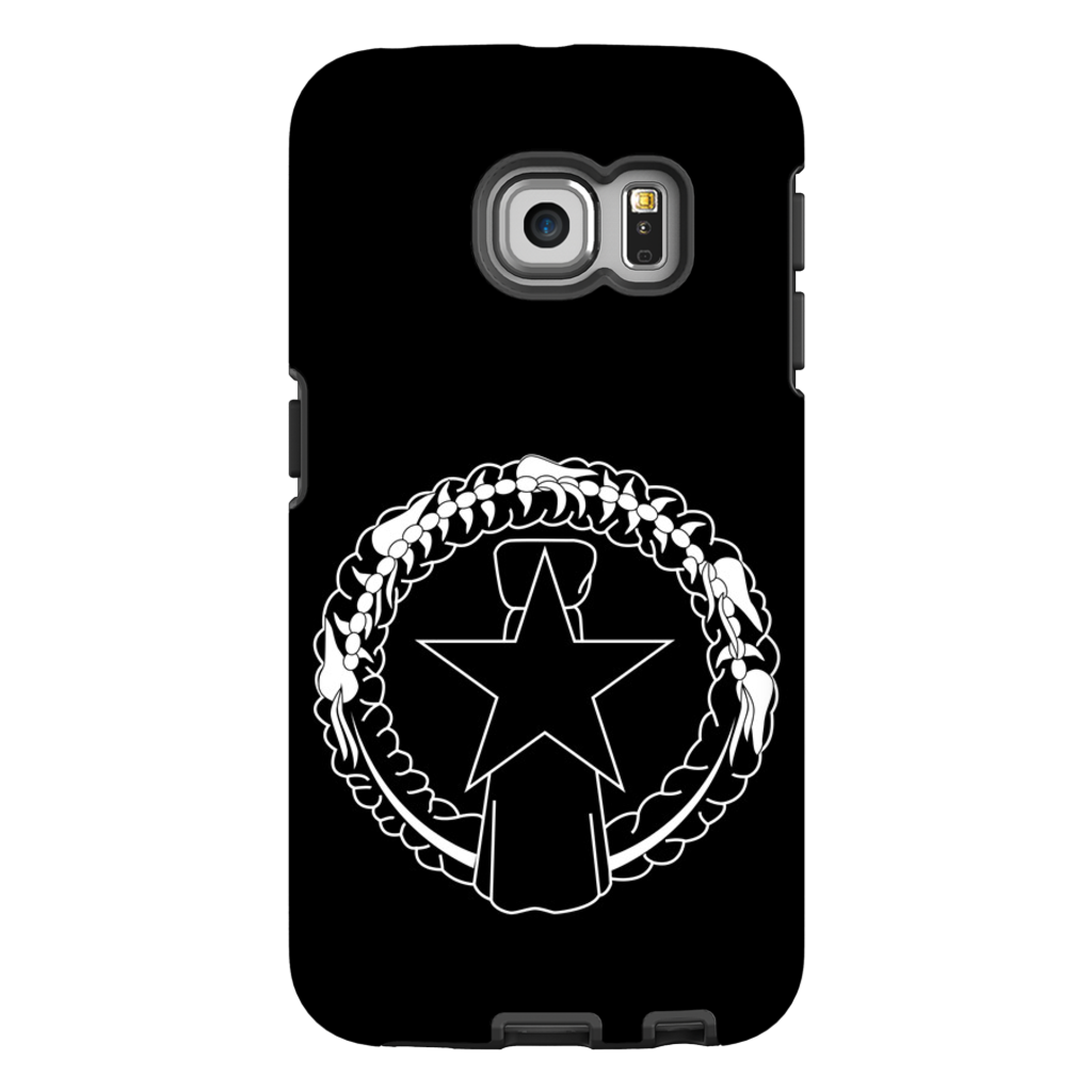 CNMI Seal Saipan Tinian Rota Outline Premium Glossy Tough Phone Case
