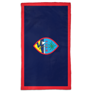 Guam Flag Hand Towel