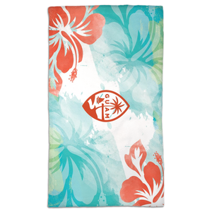 Guam Seal Tropical Island Hand Towel