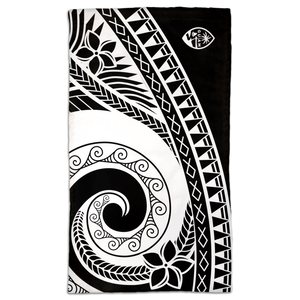 Guam Seal Tribal Hand Towel