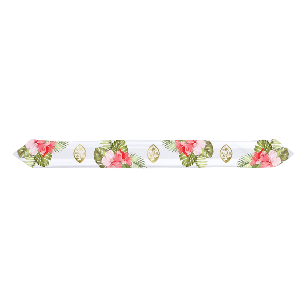 Guam Seal Hibiscus Striped Baby Headband