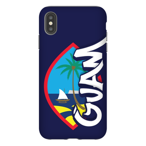 Guam Seal Tagged Premium Glossy Tough Phone Case