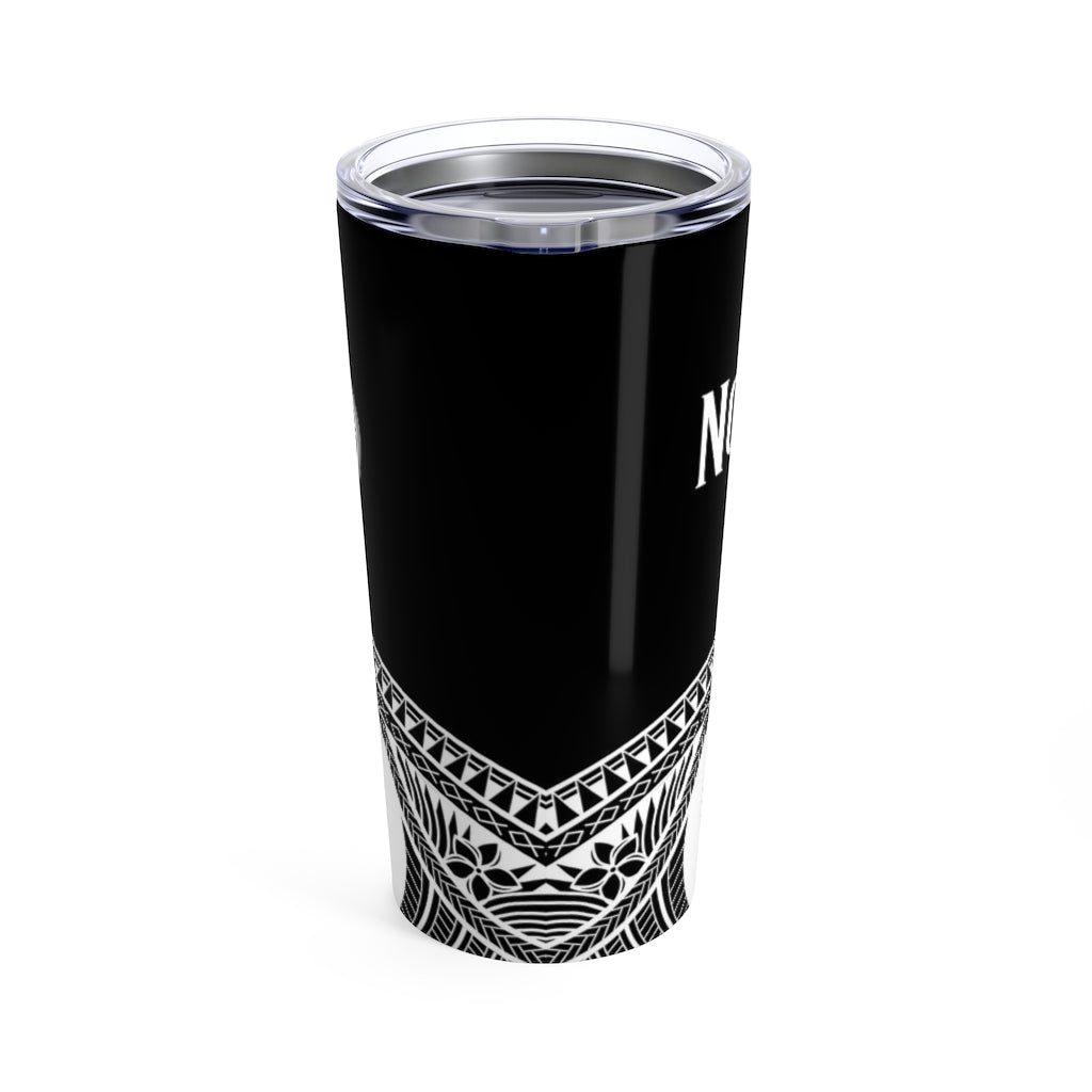 Nobiu Chamorro Groom Guam Wedding Black Tumbler 20oz