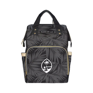 Guam Seal Coconut Leaves Baby Diaper Bag