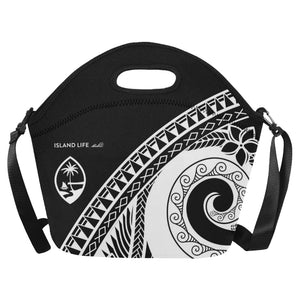 Guam Modern Tribal Neoprene Lunch Bag Large