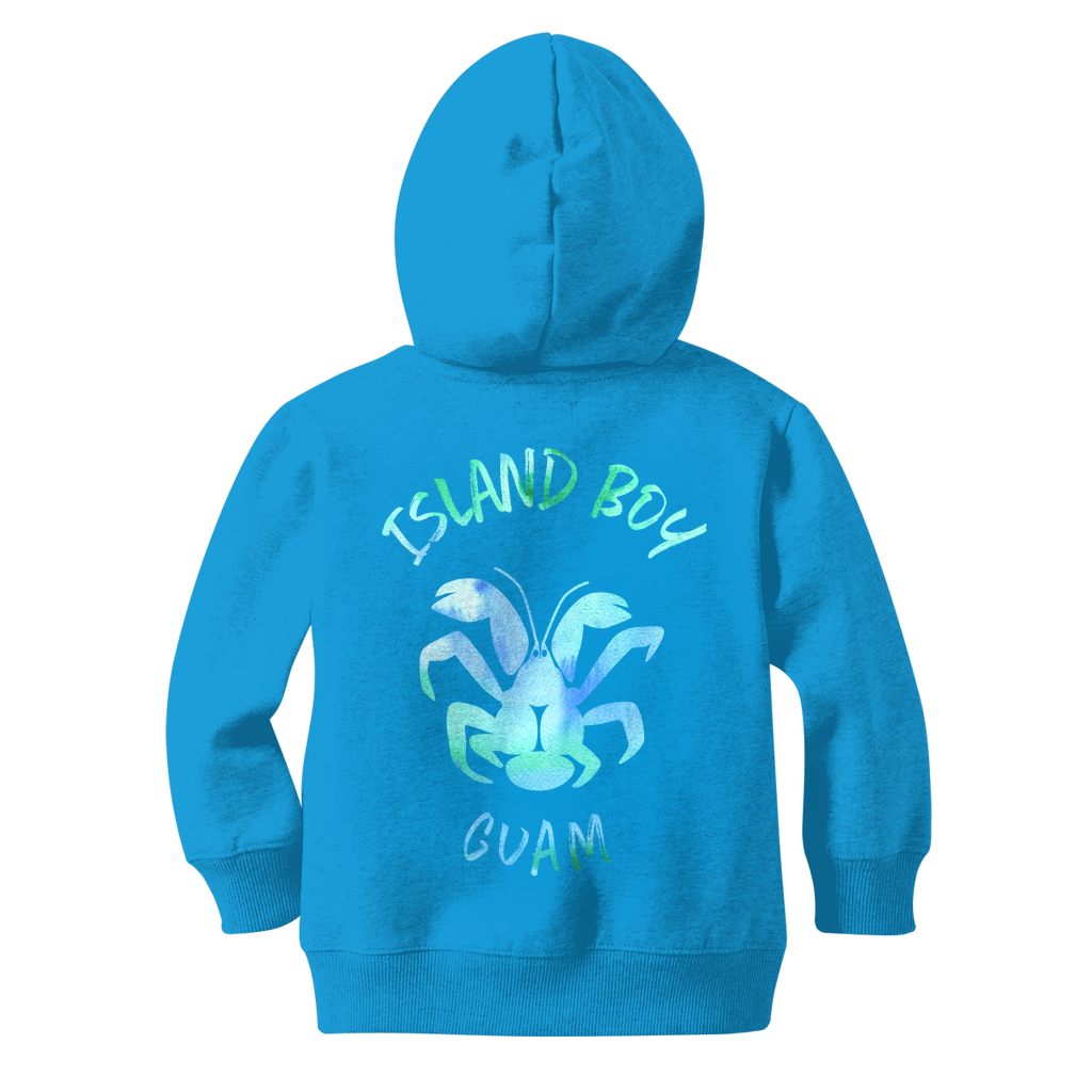 Coconut Crab Island Boy Guam Classic Kids Zip Hoodie Jacket