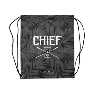 Guam Chief Large Drawstring Bag