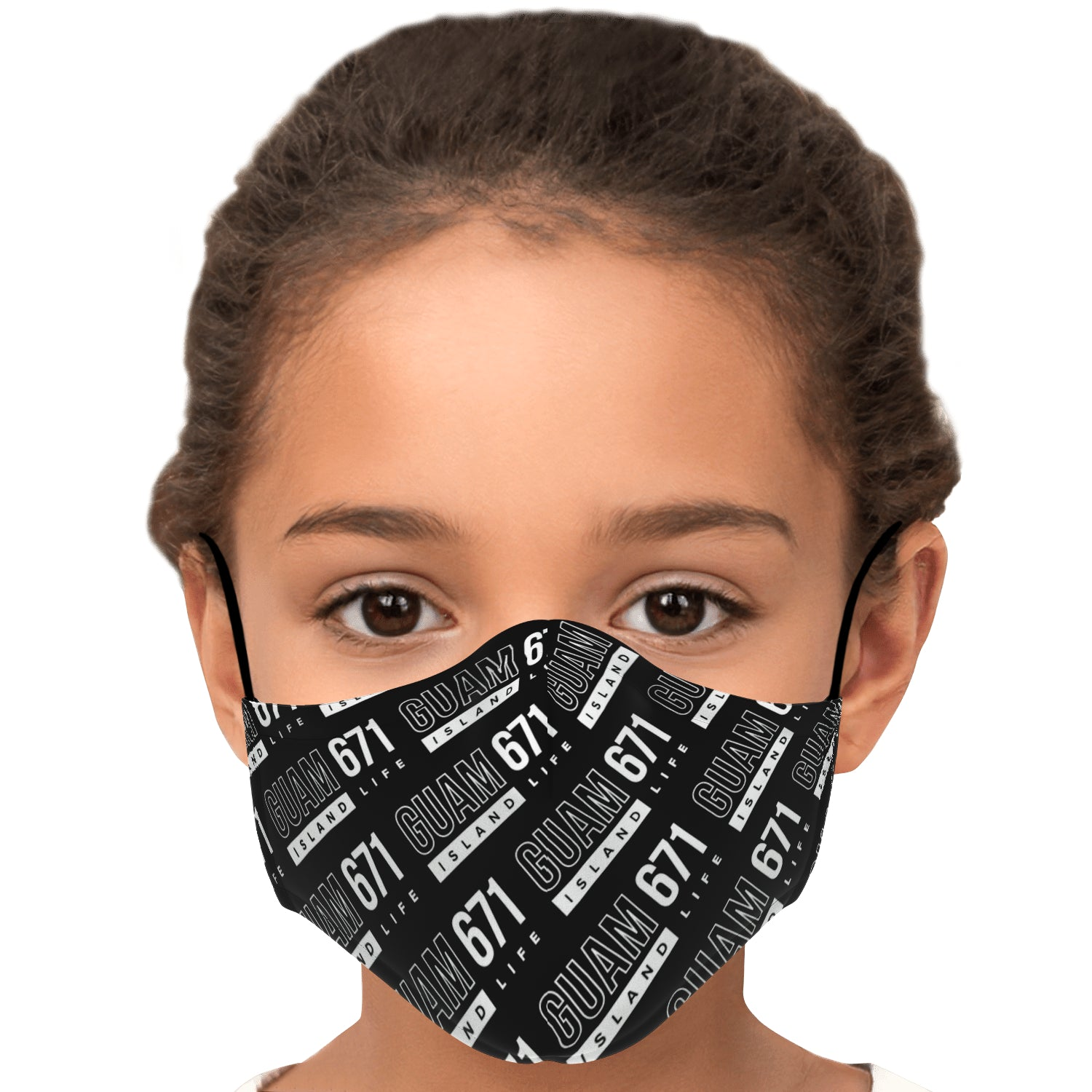 Guam 671 Face Mask for Youth and Adults