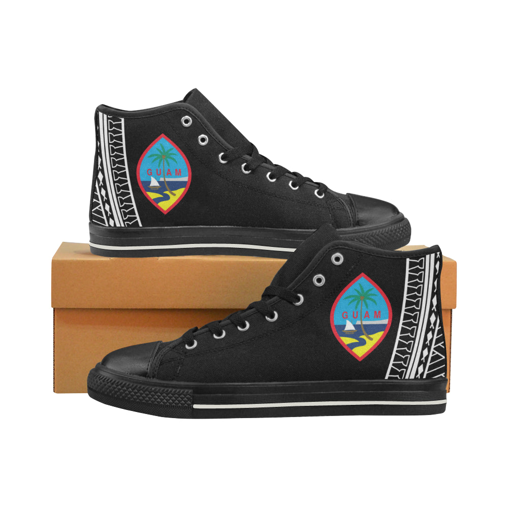 Tribal Guam Seal High Top Shoe Kids