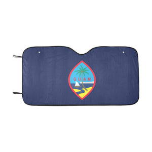 Guam Flag Car Sun Shade Car Sun Shade