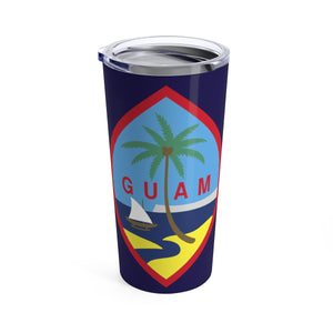 Guam Flag Allover Print 20oz Tumbler