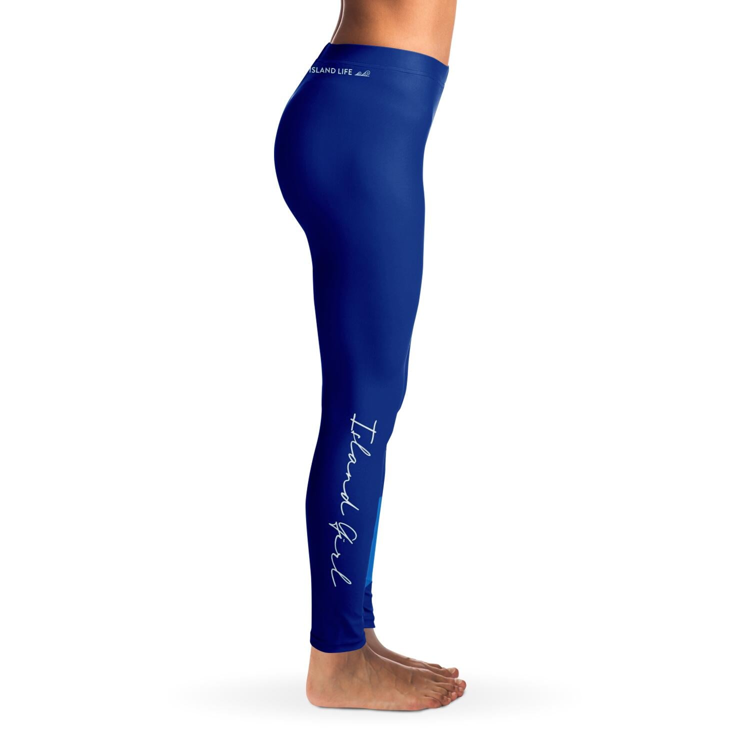 Guam Seal Island Girl Blue Premium Leggings