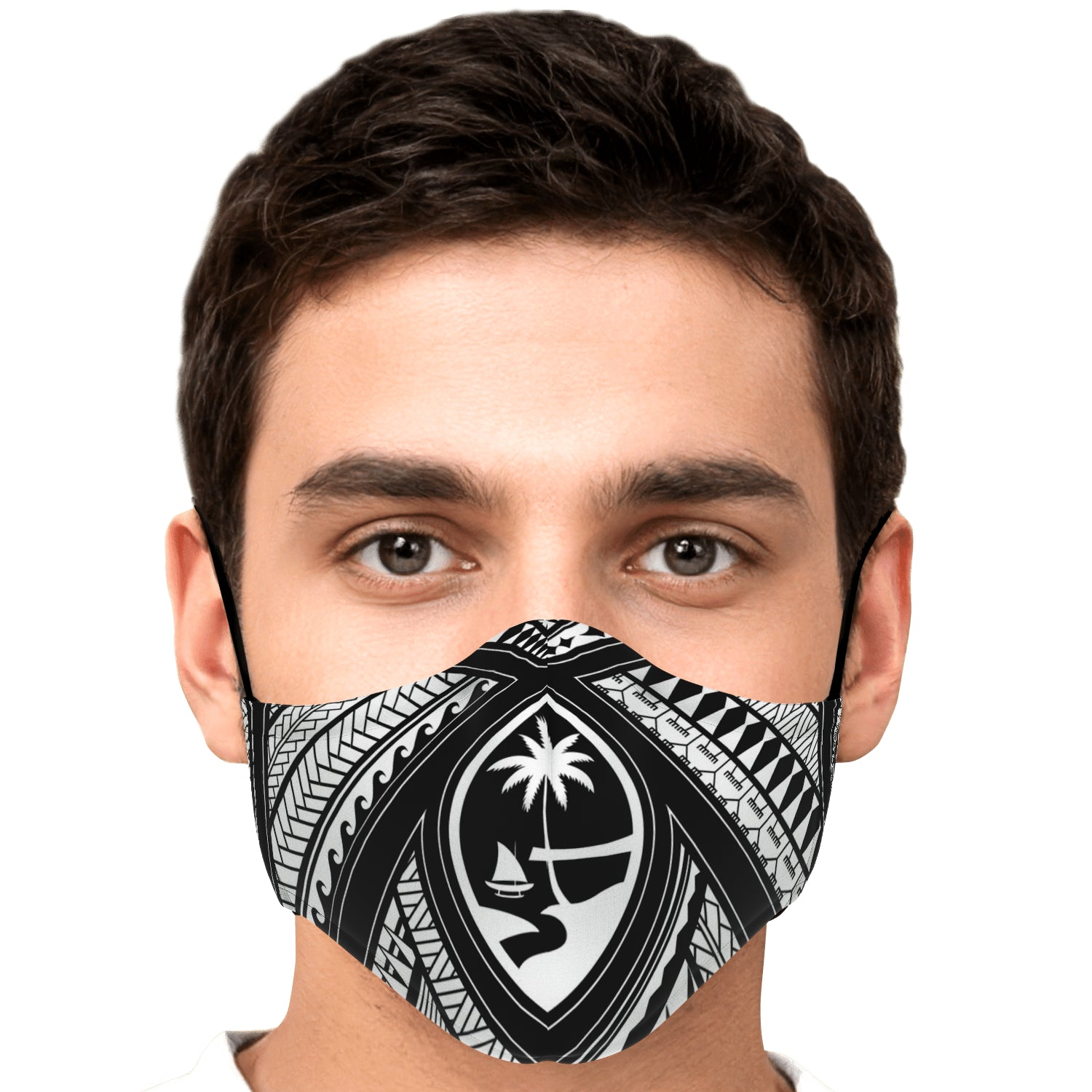 Guahan Tribal Face Mask for Youth and Adults