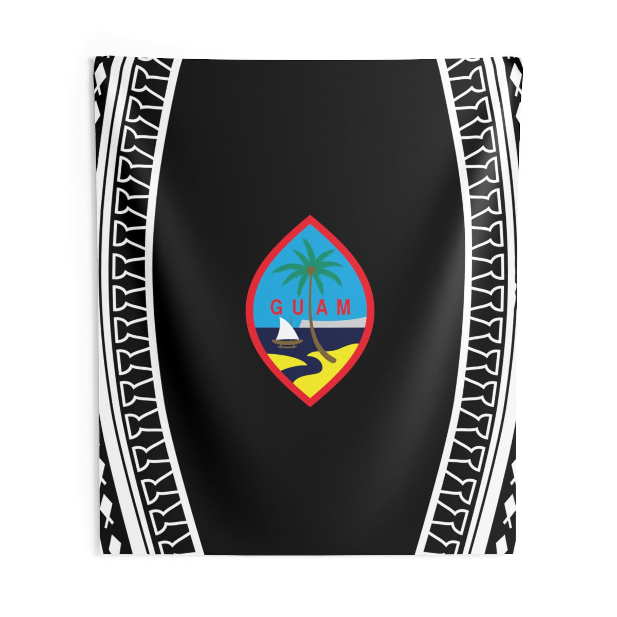 Guam Tribal Indoor Wall Tapestry