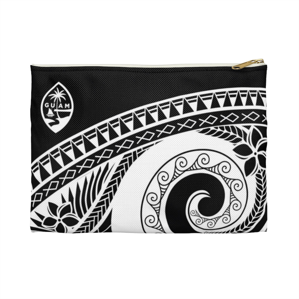 Guam Seal Tribal Accessories Carry All Pouch