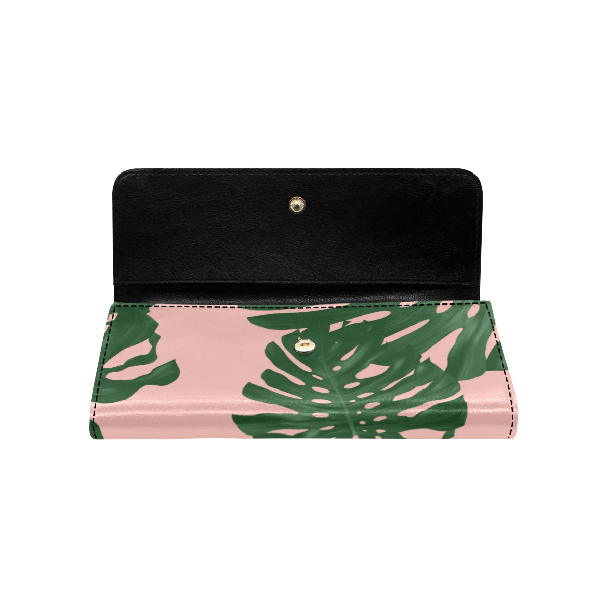 Guam Love Lemai Leaves Women's Trifold Wallet