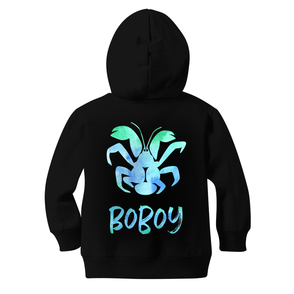 Coconut Crab Boboy Guam Boys Classic Kids Zip Hoodie Jacket