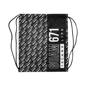 Guam 671 Life Large Drawstring Bag