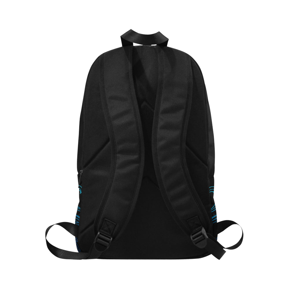 Guam Turtle Black Ombre Waves Laptop Backpack