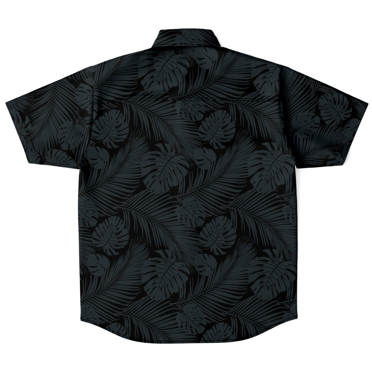 Retro Tribal Tropical Guam CNMI Button Down Shirt