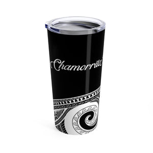 Chamorrita Black Tribal 20oz Tumbler