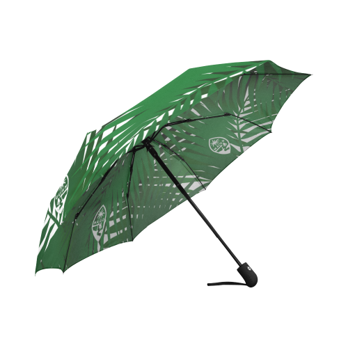 Guam Coconut Leaves Automatic Folding Umbrella