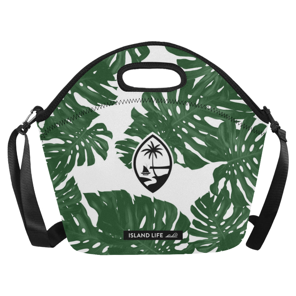Guam Lemai Leaves Neoprene Lunch Bag Large