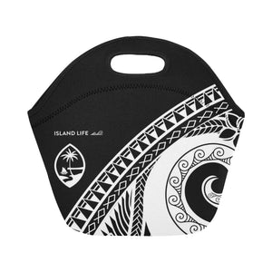 Guam Modern Tribal Neoprene Lunch Bag Small