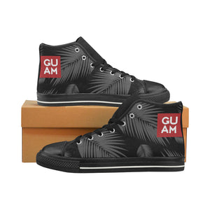Guam Coconut Leaves High Top Shoe Kids