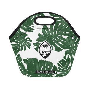 Guam Lemai Leaves Neoprene Lunch Bag Small