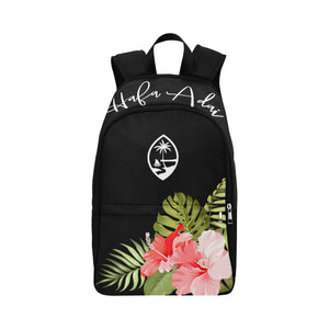 Guam Hafa Adai Pink Hibiscus Laptop Backpack