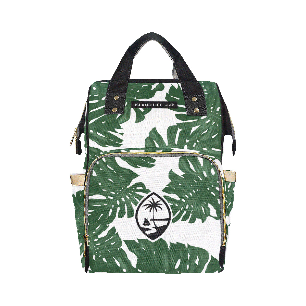 Guam Lemai Leaves Baby Diaper Backpack Bag