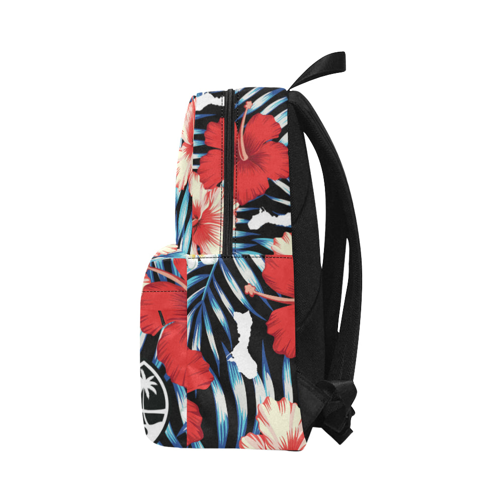 Guam Tropical Floral Unisex Classic Backpack