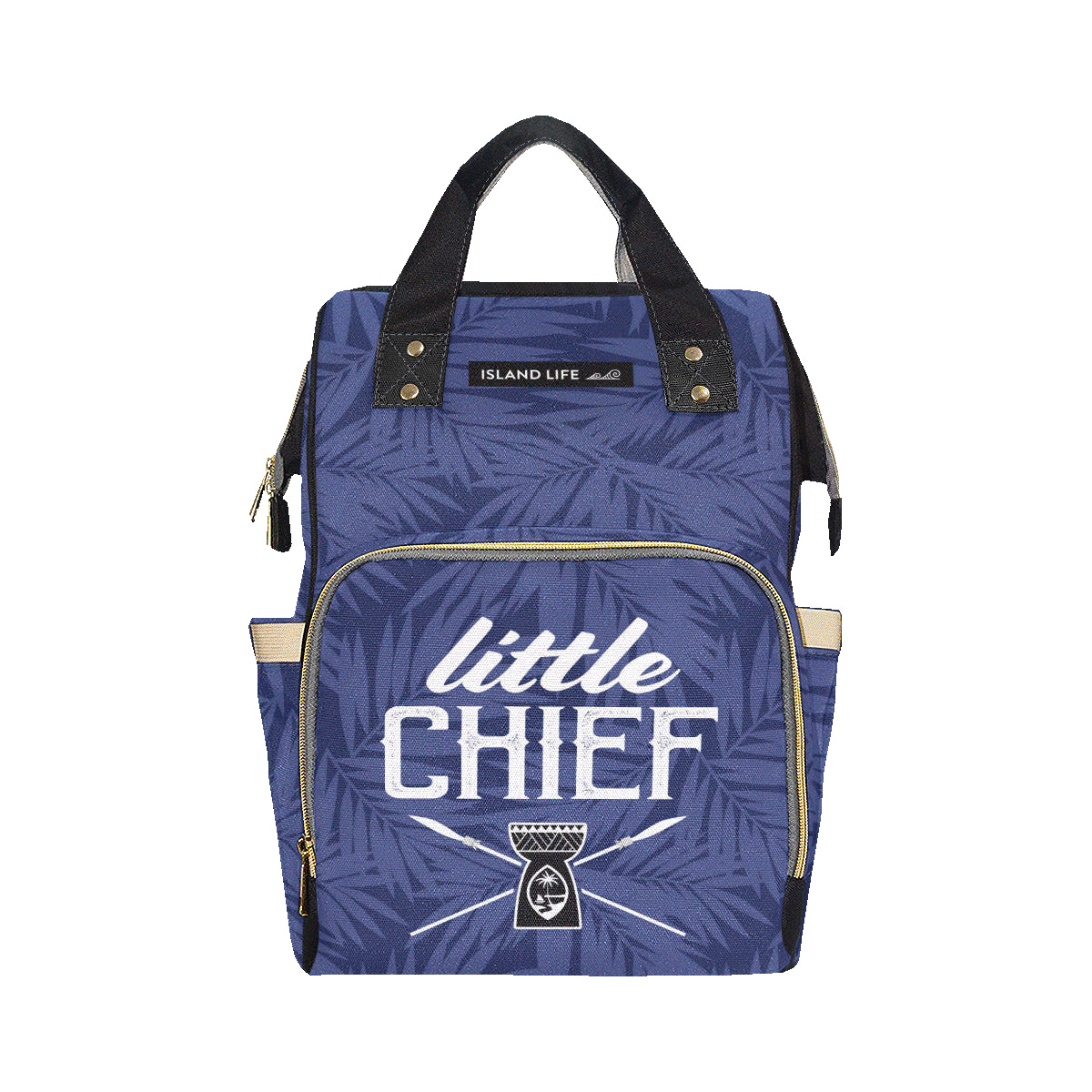 Little Chief Guam Blue Baby Diaper Backpack Bag